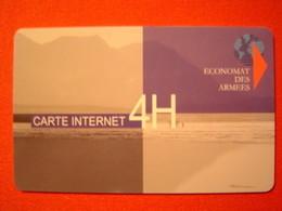 CARTE INTERNET / ECONOMAT DES ARMEES - Armée