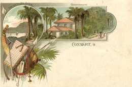 CONAKRY Style Gruss Vue Sur Les Iles De Los Gouvernement Edit Fr Colin& Cie  Precurseur  RV - Guinée Française