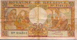 BELGIQUE – 50 Francs 03-04-1956 - [ 2] 1831-... : Royaume De Belgique