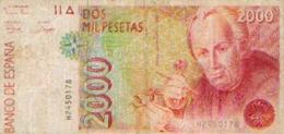 ESPAGNE – 2000 PESETAS - [ 4] 1975-… : Juan Carlos I