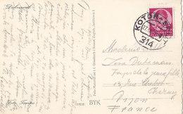 Yugoslavia Ship Mail Post Kotor-Split 314 ( 1939 ) - 1931-1941 Kingdom Of Yugoslavia