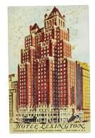 CPA ETATS-UNIS USA NEW-YORK HOTEL LEXINGTON CHATEAU MADRID - Cafés, Hôtels & Restaurants
