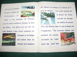 L AVIATION ANGLAISE , PUBLICATION DU BUREAU D INFORMATION ALLIE - Books, Magazines  & Catalogs