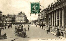 BORDEAUX  PLACE DE LA COMEDIE - Bordeaux