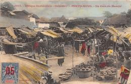¤¤   -  DAHOMEY  -  PORTO-NOVO  -  Un Coin Du Marché  -  Afrique Occidentale  -   Fortier    -   ¤¤ - Dahomey
