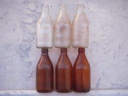 6 Bouteilles Bières US WW2 (marquages Différents) - 1939-45