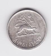 50 Cents 1936 Hailé Sélassié Argent  TTB - Ethiopie