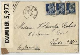 Algerien Zensurbrief Nach London 1943 (545498) - Algeria (1924-1962)