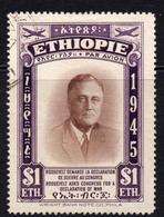 ETHIOPIA 1947 - From Set Used - Ethiopië