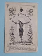 GEBED Van Den H. BERNARDUS ( Memorare ) Geloofd Zij Jesus Christus ( Details - Zie Foto ) ! - Religion & Esotérisme