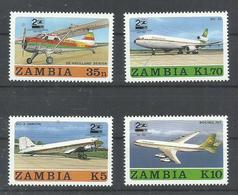 ZAMBIA  YVERT 416/19     MNH  ** - Zambia (1965-...)
