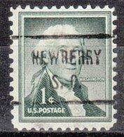 USA Precancel Vorausentwertung Preo, Locals South Carolina, Newberry 721 - Vereinigte Staaten