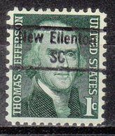 USA Precancel Vorausentwertung Preo, Locals South Carolina, New Ellenton 843 - Vereinigte Staaten