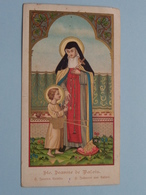 Ste JEANNE De VALOIS ( De Heilige Joanna Van Valois - Instelster Der Annuntiaten 4 Feb. ) - ( Details - Zie Foto ) ! - Religion & Esotérisme