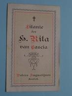 Litanie Der H. RITA Van CASCIA (Cassia) PATERS AUGUSTIJNEN KONTICH ( Details - Zie Foto ) ! - Religion & Esotérisme