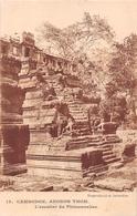 ¤¤  -  CAMBODGE   -   ANKOR THOM   -  L'Escalier Du Phimeanakas.       -   ¤¤ - Cambodia