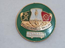 BROCHE, PELERINAGE PAOLINI - Associations