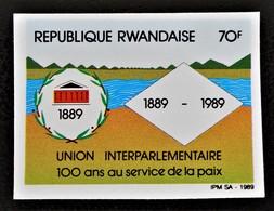 CENTENAIRE DE L'UNION INTERPARLEMENTAIRE 1989 - NEUF ** - YT 1283 - MI 1414B - NON-DENTELE - Collections