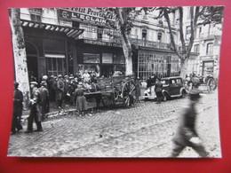 AVIGNON PAPETERIE JOURNAUX GANGLOFF CARTE PHOTO 12.5 X 9 - Avignon