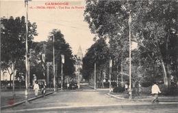 ¤¤  -  CAMBODGE   -   PHNOM-PENH   -  Une Rue Du Pnomh        -   ¤¤ - Cambodia