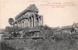 ¤¤  -  EX-CAMBODGE   -   ANGKOR-VAT  -  Petit Temple Entre La 1ere Et La 2eme Galerie         -   ¤¤ - Cambodge