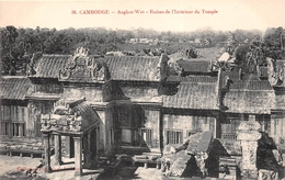 ¤¤  -  CAMBODGE   -   ANGKOR-VAT  -  Ruines De L'Intérieur Du Temple         -   ¤¤ - Cambodge