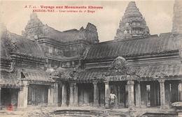 ¤¤  -  CAMBODGE   -   ANGKOR-VAT  -  Cour Intérieur Du 3e étage  -  Voyage Aux Monuments Khmers       -   ¤¤ - Cambodia