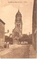 (50) Manche - CPA - Ste Marie Du Mont - L'Eglise - Other Municipalities