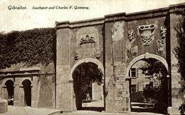 GIBRALTAR SOUTPORT AND CHARLES V GATEWAY - Gibraltar
