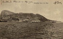 GIBRALTAR    FROM THE BAY - Gibraltar