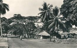 GUINEE  CONAKRY  - CASES INDIGENES  SUR LA CORNICHE - Guinée Française