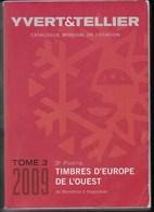 CATALOGO YVERT TOMO 3 - EUROPA OVEST ( Macedonia/Yugoslavia) - EDIZIONE 2009 - USATO - PAGG. 1417 - Francia