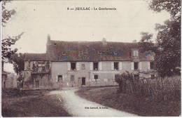 JUILLAC Correze LA GENDARMERIE , Carte Postale - Juillac