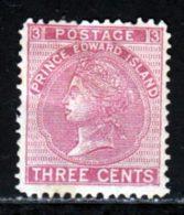 Prince Edouard 1872 Yvert 13 * B Charniere(s) - Prince Edward (Island)