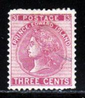 Prince Edouard 1872 Yvert 13 * B Charniere(s) Variete - Prince Edward (Island)
