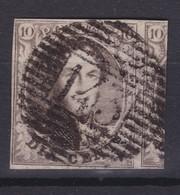 N° 6 Margé Grand Voisin  143  GHISTELLES COBA +40.00 - 1851-1857 Medallions (6/8)