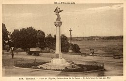 DINARD PLACE DE L EGLISE  EMBOUCHURE DE LA RANCE - Dinard