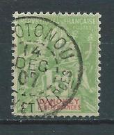 DAHOMEY 1901/05 . N° 9 . Oblitéré . - Dahomey (1899-1944)