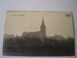 Ligny (Sombreffe) Panorama (Eglise) Used 19?? Nr Sticker On Front! Ed. Desaix - Sombreffe