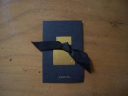 Carte Burberry - Perfume Cards