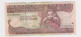 10  Birr 2008   Etat Neuf - Ethiopie