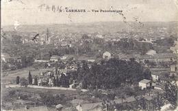 -- 81 --   CARMAUX -- VUE PANORAMIQUE -- EDITION CAHUZAC BAZAR -- 1923 - Carmaux