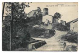 63 Saint Dier, Chateau De Boissonnelle (3539) - France