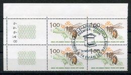 RC 9143 FRANCE 1979 ABEILLE BEE APICULTURE CACHET 1er JOUR BLOC DE 4 TB - Honeybees