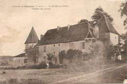 47 Lot Et Garonne  : St Léger-de-Penne Environs De Dausse  Château De Lacoste Réf 4364 - France