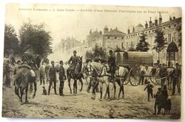 Artistes Lorrains - 5. Jules Voirin - Arrivée D'une Batterie D'Artillerie Sur La Place Carnot - Nancy
