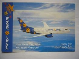 Avion / Airplane /  ISRAIR  / Boeing B737 / Airline Issue - 1946-....: Modern Era