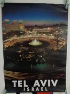 AFFICHE:  TEL AVIV ,Israel    , H 66,3   L 48 - Affiches