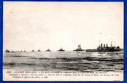 La Flotte Allemande Dans Le Canal De Kiel - Guerre