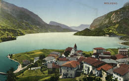 Italy, Molveno, View, Old Postcard - Italy